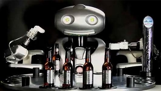 Mr Asahi – робот-бармен
