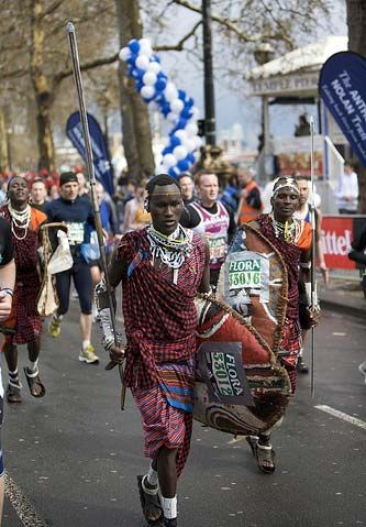 Прикольные костюмы участников марафона