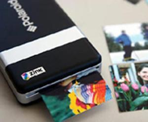 Polaroid создала мобильный принтер для цифровых фотографий