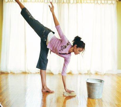 Почему убираться в квартире вредно для здоровья