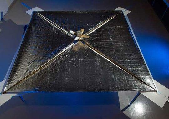 NASA готовит свой солнечный парус