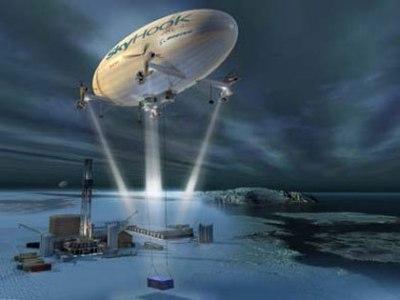 SkyHook и Boeing разработают тяжелый транспортный дирижабль