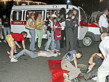 Задержанных по делу о взрыве уже одиннадцать