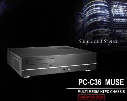 Два стильных корпуса Lian Li серии MUSE для HTPC-систем