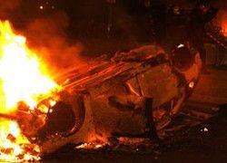 Во Франции за ночь сгорело 300 машин