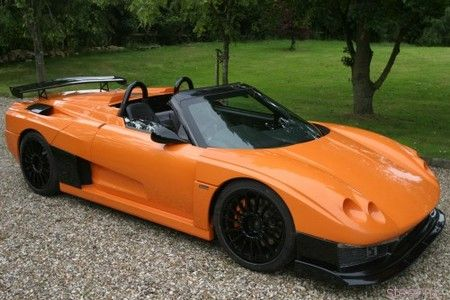 Британский спорткар Salica GT