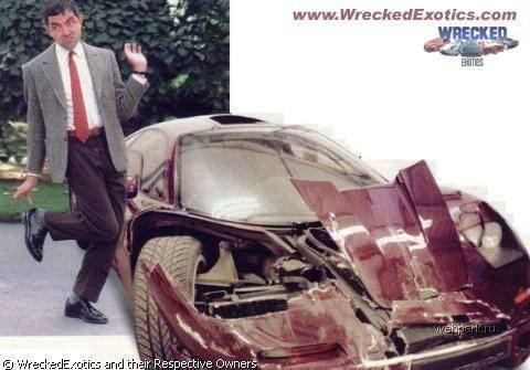 Как знаменитости разбивают свои автомобили