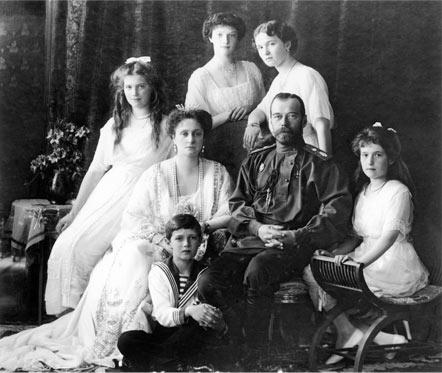 91 год с расстрела Романовых