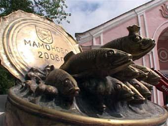 В Калининградской области поставили памятник шпротам