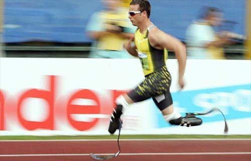 Безногий легкоатлет не попал на Игры в Пекине