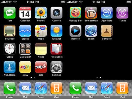 iPhone 2.0: знакомство с прошивкой и рейтинг софта
