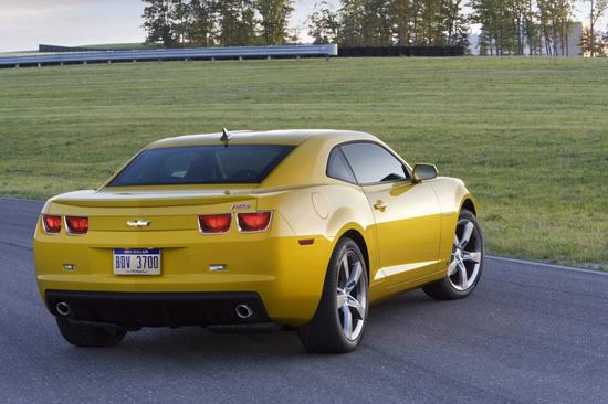 Chevrolet Camaro раскрыл свою сущность