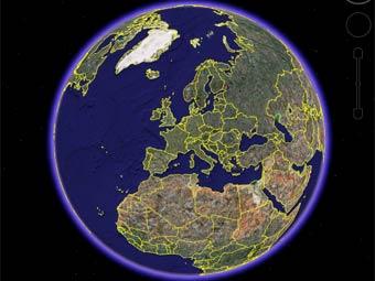 Археолог сделал 450 открытий при помощи Google Earth