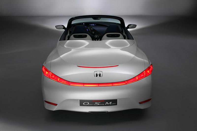 Канцэптуальны родстэр Honda: экалагічна бяспечны і стыльны аўтамабіль