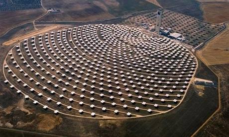В Сахаре построят гигантские солнечные фермы