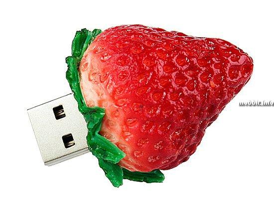 Новая порция «съедобных» USB-флэшек от Brando