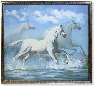 Генетики раскрыли загадку белых лошадей