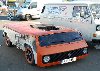 Самый низкий в мире автобус Volkswagen