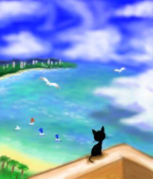 История одного котёнка