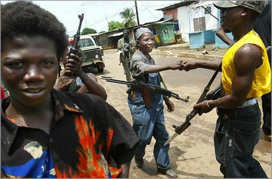 Война, она и в Африке война