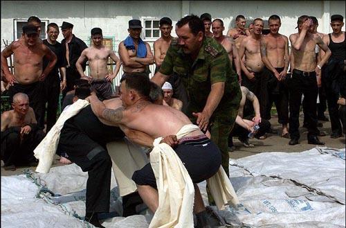 Спортивные соревнования в тюрьме