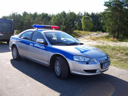GAZ Volga Siber — идет служить в ДПС.