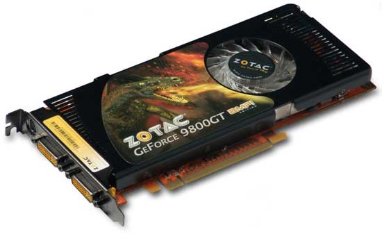 GeForce 9800 GT AMP! Limited Edition – эксклюзив от Zotac