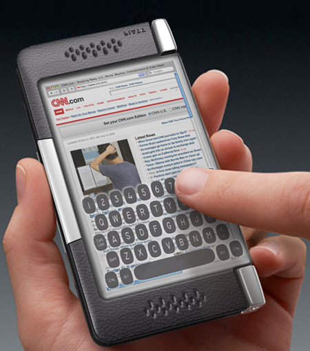 Смартфон Plica - очередной убийца iPhone