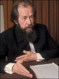 Умер Солженицын