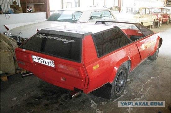 В СССР человек желал Lamborghini Countach. И построил сам в 1980 году!