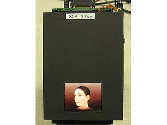 Seiko Epson разработала трехмерный дисплей для мобильников