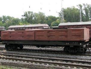 В Британии вор украл пять вагонов стали