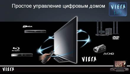 VIERA Link: система домашнего развлечения от Panasonic