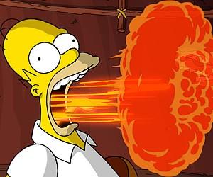 Гомер Симпсон появился на монете в 1 евро