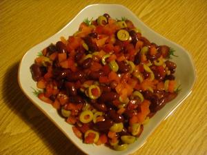 Простой салатик