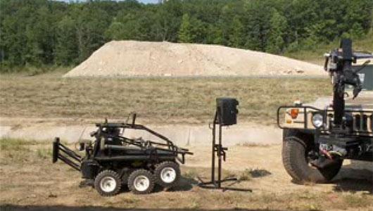 LandShark – гибридный робот-разведчик