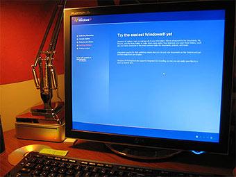 �� ������ ������� ������� ���������� Windows Vista ������� �� XP