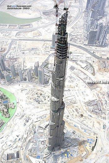 Самый высокий в мире небоскреб почти достроен!