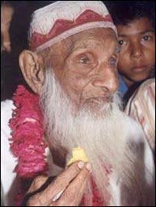В Индии скончался самый старый житель Земли