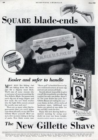История Gillette. Лучше для мужчины нет