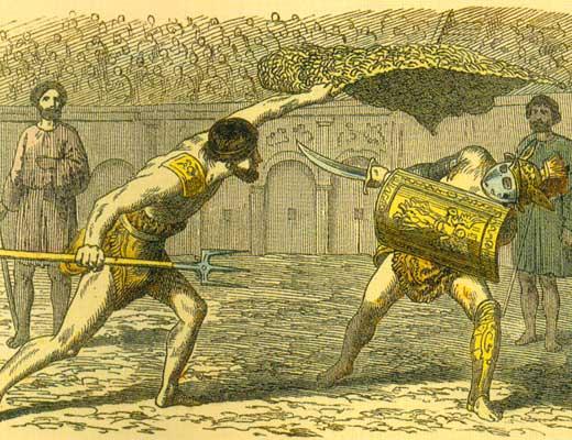 Римские гладиаторы: идущие на смерть