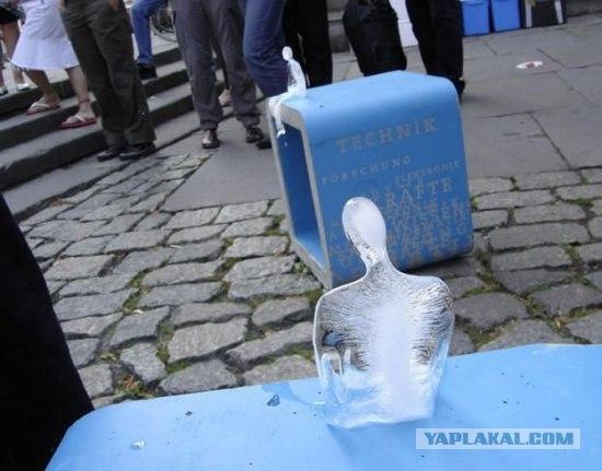 Напрасная смерть ледяных человечков