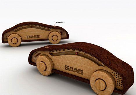 Многофункцональная деревянная игрушка от Sang-Hoon Lee