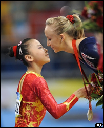 МОК требует проверить возраст китайских гимнасток