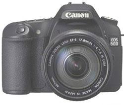 "Полные спецификации ""цифрозеркалки"" Canon EOS 50D"