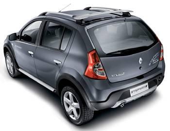 Renault Logan стал внедорожником