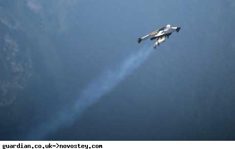 Швейцарец изобрел реактивные крылья, чтобы летать со скоростью 300 км/час