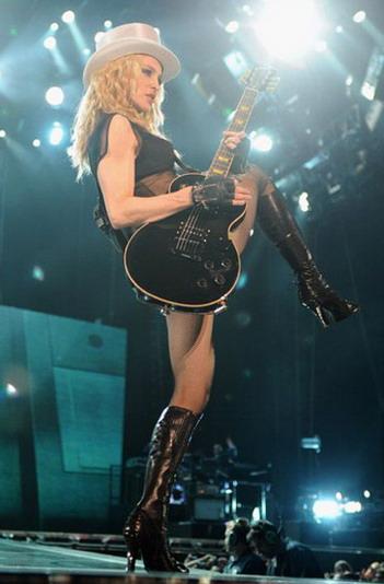 Мировой тур Мадонны начался со скандала