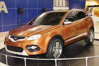 Новый кроссовер Lada – первые ФОТО