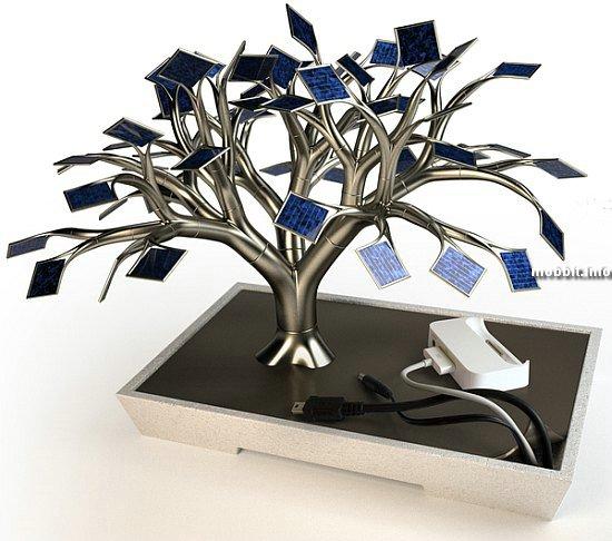 Solar Tree - красивое и полезное устройство (концепт)